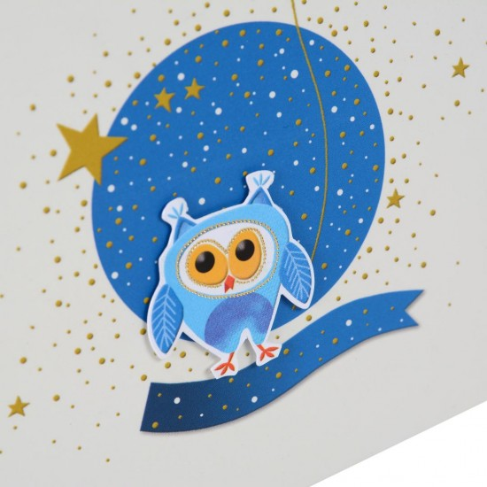 GOLDBUCH GOL-41245 notebooklet LITTLE NIGHTOWL diary without lock