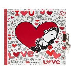 GOLDBUCH GOL-44007 dairy LOVE with lock