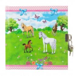 GOLDBUCH GOL-44076 dairy HORSES with lock