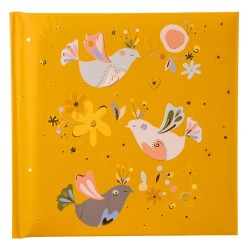 GOLDBUCH GOL-41403 TURNOWSKY dairy / poetrybook INDIAN SUMMER yellow without lock