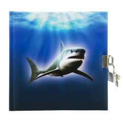GOLDBUCH GOL-44090 diary SHARK with lock