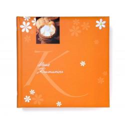GOLDBUCH GOL-03274 Communie album oranje als fotoboek met DUITSE TEKST