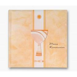GOLDBUCH GOL-03354 Communie album creme geel als fotoboek met DUITSE TEKST