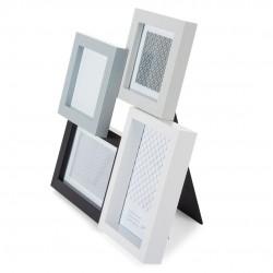 GOLDBUCH GOL-910028 Photoframe FRESH BLACK&WHITE for 2x 10x10 cm and 2x 10x15 cm photo