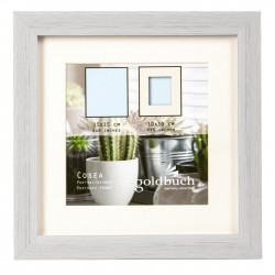GOLDBUCH GOL-910110 Photoframe COSEA grey for 10x10 cm photo
