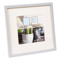 GOLDBUCH GOL-910111 Photoframe COSEA grey for 30x30 cm photo