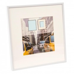 GOLDBUCH GOL-910121 Photoframe PURO white for 30x30 cm photo
