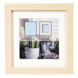 GOLDBUCH GOL-910210 Photoframe COSEA beige for 10x10 cm photo