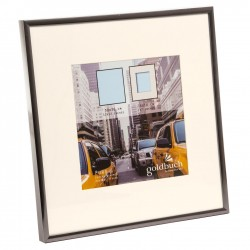GOLDBUCH GOL-910221 Photoframe PURO grey for 30x30 cm photo