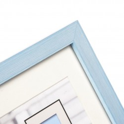 GOLDBUCH GOL-910310 Photoframe COSEA light blue for 10x10 cm photo