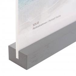 GOLDBUCH GOL-950032 frame SOLID GREY acrylic with wood for 10x15cm photo