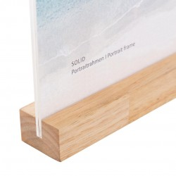 GOLDBUCH GOL-950022 frame SOLID WHITE acrylic with wood for 10x15cm photo