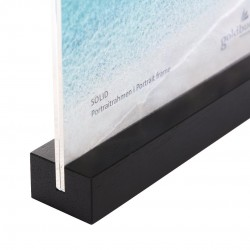 GOLDBUCH GOL-950052 frame SOLID BLACK acrylic with wood for 10x15cm photo