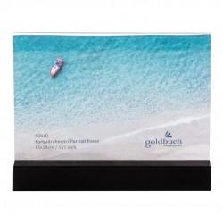 GOLDBUCH GOL-950053 frame SOLID BLACK acrylic with wood for 13x18cm photo