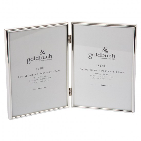 GOLDBUCH GOL-960296 Photoframe FINE silver 2x 15x20 cm