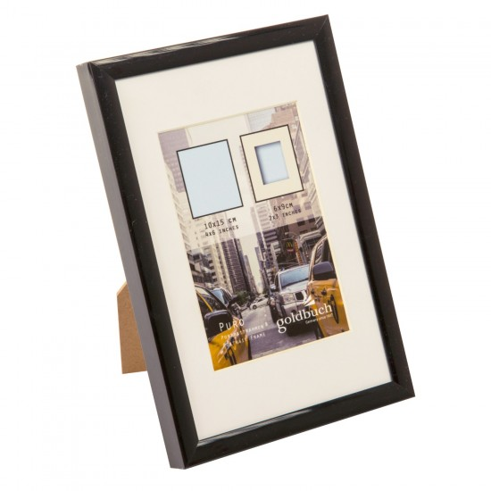 GOLDBUCH GOL-910002 Photoframe PURO black for 10x15 cm photo