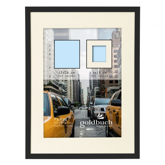 GOLDBUCH GOL-910003 Photoframe PURO black for 13x18 cm photo