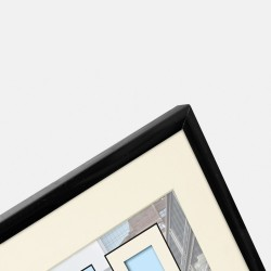 GOLDBUCH GOL-910008 Photoframe PURO black for 30x40 cm photo
