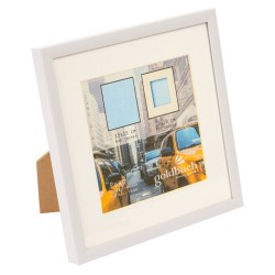 GOLDBUCH GOL-910120 Photoframe PURO white for 15x15 cm photo