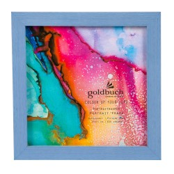 GOLDBUCH GOL-910307 Photoframe COLOR UP blue for 15x15 cm photo