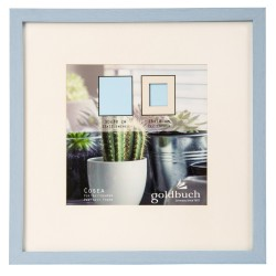 GOLDBUCH GOL-910311 Photoframe COSEA light blue for 30x30 cm photo