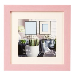 GOLDBUCH GOL-910410 Photoframe COSEA light pink for 10x10 cm photo