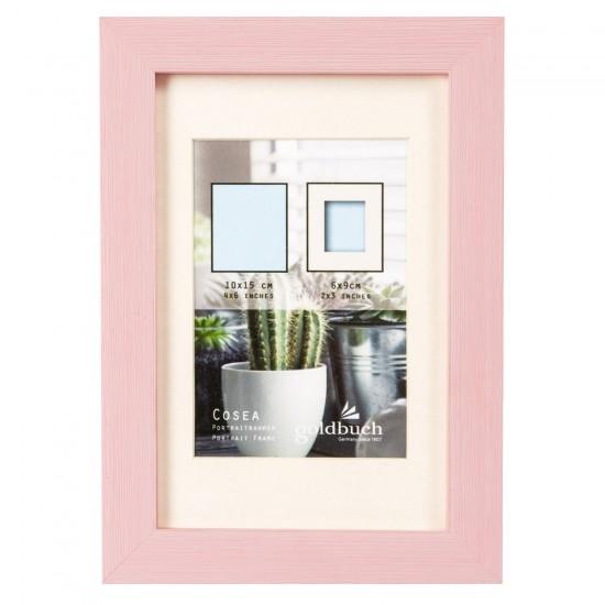 GOLDBUCH GOL-910412 Photoframe COSEA light pink for 10x15 cm photo