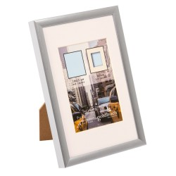 GOLDBUCH GOL-910422 Photoframe PURO silver for 10x15 cm photo