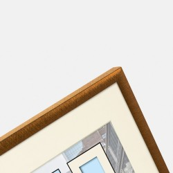 GOLDBUCH GOL-910521 Photoframe PURO bronze for 30x30 cm photo