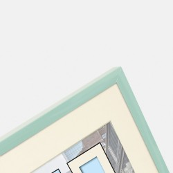 GOLDBUCH GOL-910628 Photoframe PURO mint for 30x40 cm photo