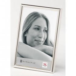Walther Design Chloe - WD-015S Photo frame - Photo format 10 x 15 cm - Silver