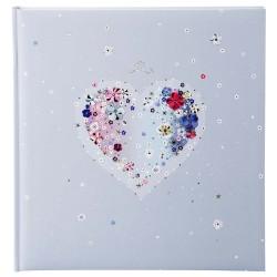 GOLDBUCH GOL-08164 marriage album HEARTS OF FLOWER