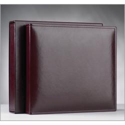Verka marriage album GENEVE bordeaux 37x40cm with black sheets