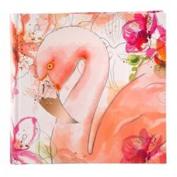 GOLDBUCH GOL-17216 slip-in photo album SUMMER BREEZE Flamingo for 200 photos