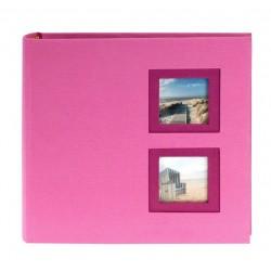 GOLDBUCH GOL-17287-R slip in album VIEW for 200 photo's - pink