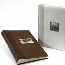 GOLDBUCH GOL-17375-B slip-in album ANIMAL slip-in 300 foto's - brown