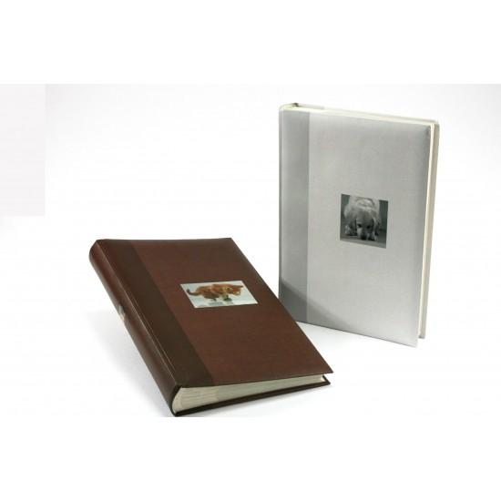 GOLDBUCH GOL-17375-G slip-in album ANIMAL slip-in 300 foto's - gray