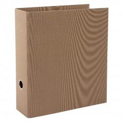 GOLDBUCH GOL-33716 Linum 8CM folder coffee bronze, 2 rings, 2-pack