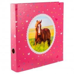 GOLDBUCH GOL-35391 5CM ordner HORSE pink - 3D - 2 rings