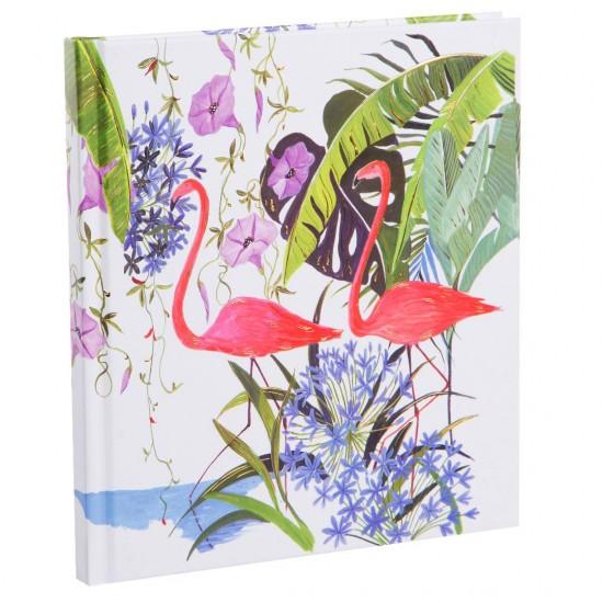 GOLDBUCH GOL-42346 TURNOWSKY Poetrybook TROPICAL FLAMINGO notebook