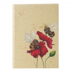 GOLDBUCH GOL-64104 A5 bulletjournal GREEN VIBES BEE'S