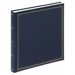 Walther Design FA-260-L photo album MONZA - 34 x 33 cm - Blue - 60 pages